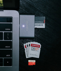 Memory cards and Storage